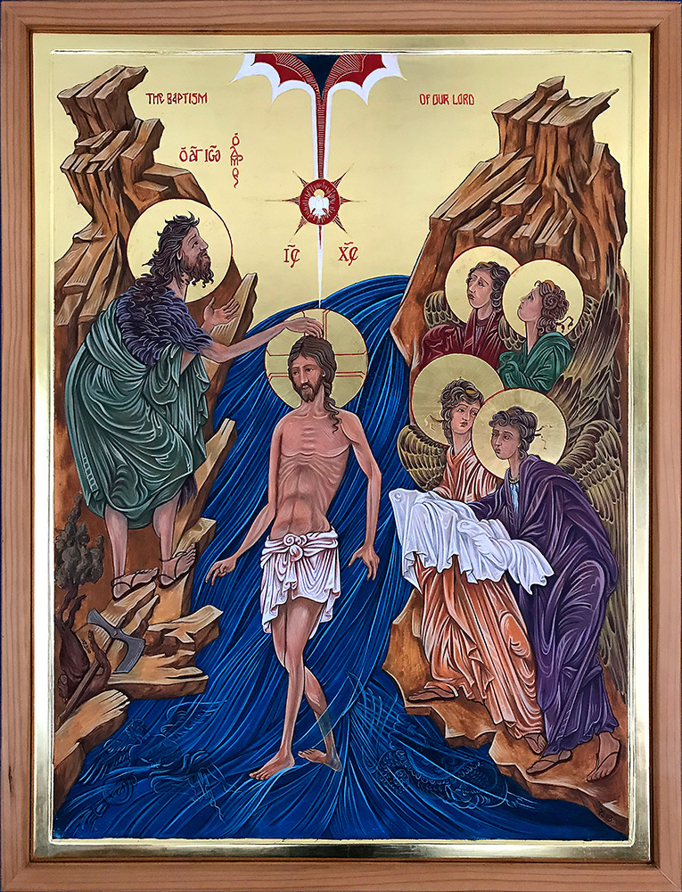 Icon of The Baptism of The Lord 100 x 75 cm NZD$11,250.00   Enquire