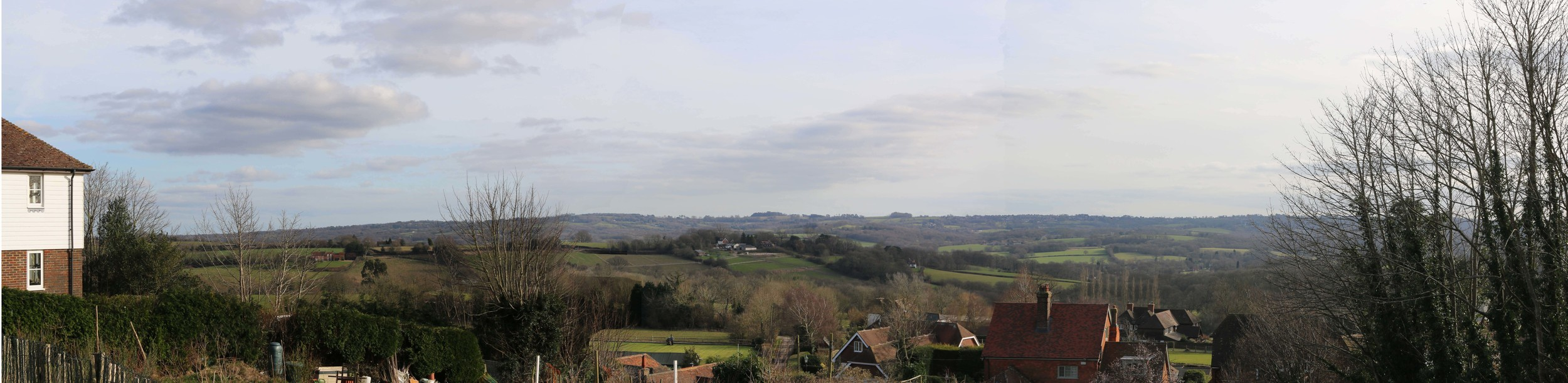 The High Weald Area of Outstanding Natural Beauty, one of the best surviving medieval landscapes in Europe