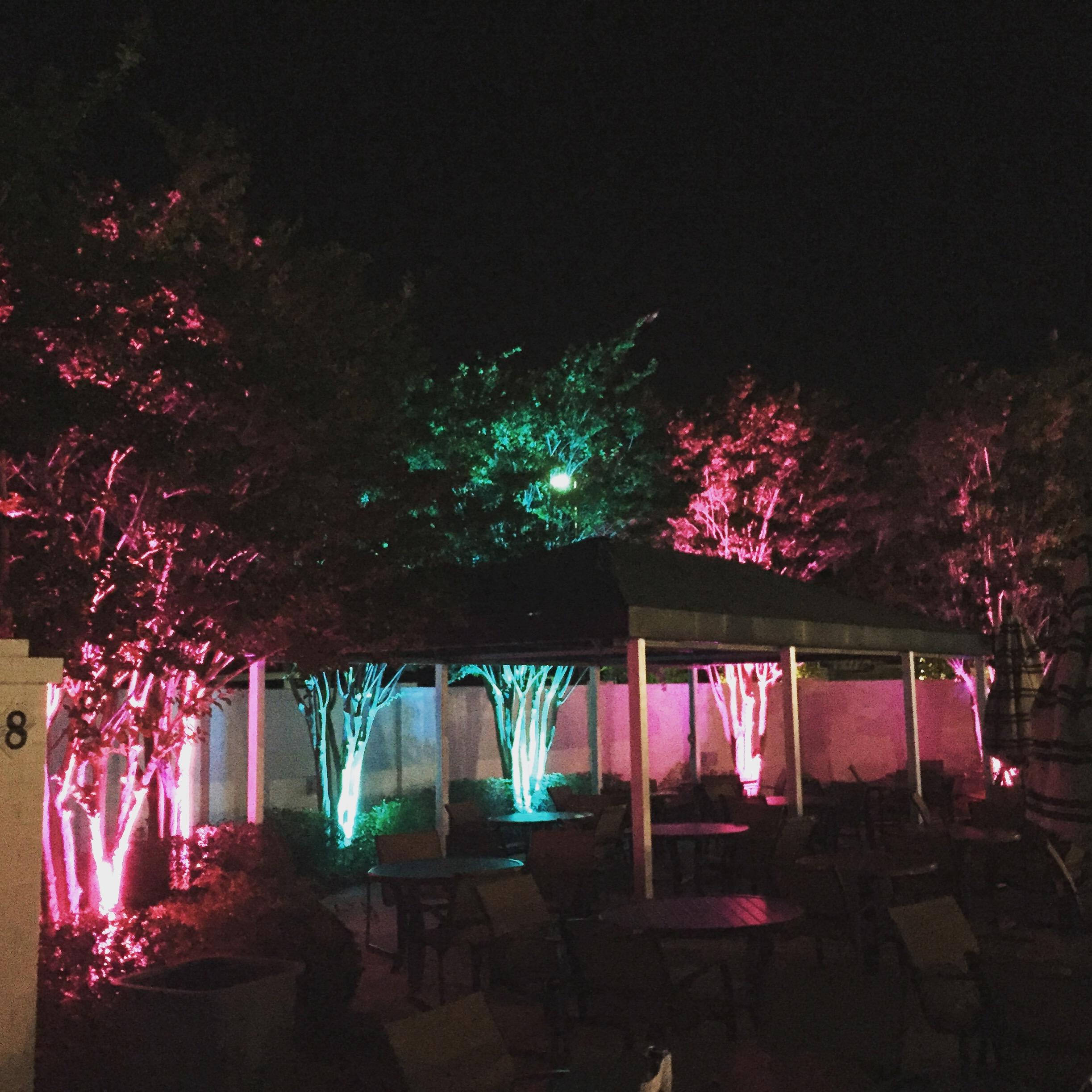 outdoor up lighting