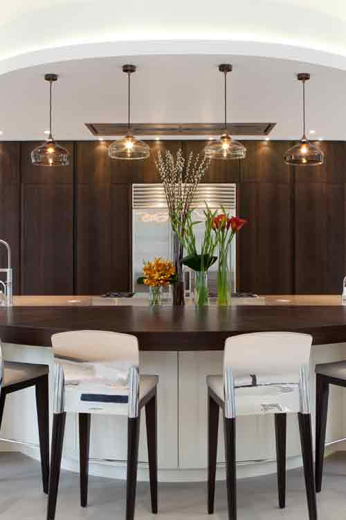 Clear Glass Kitchen Pendants
