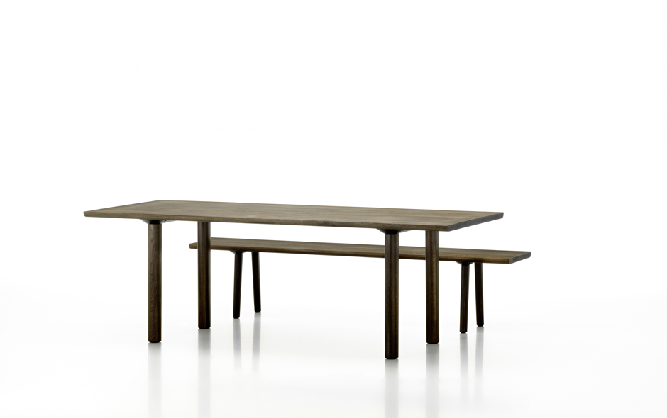 The finely detailed Wood Collection by Vitra.