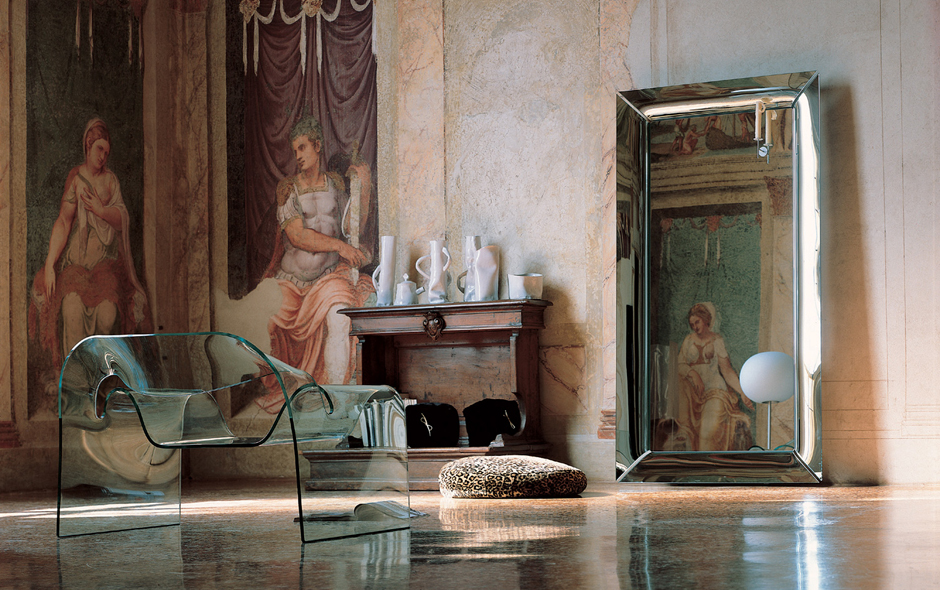 6/19 #6 Caadre Mirror by Philippe Starck for Fiam.