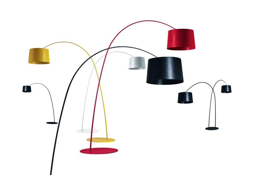 8/19 #8 Twiggy Floor Lamp by Marc Sadler for Foscarini.