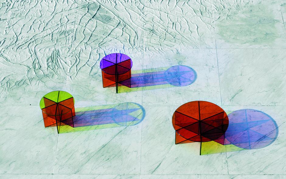 9/19 #9 XXX Low Table by Joanna Grawunder for Glas Italia.
