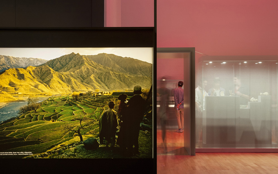 6/7 The Afghanistan: Hidden Treasures exhibition opened at the Melbourne Museum in 2013.