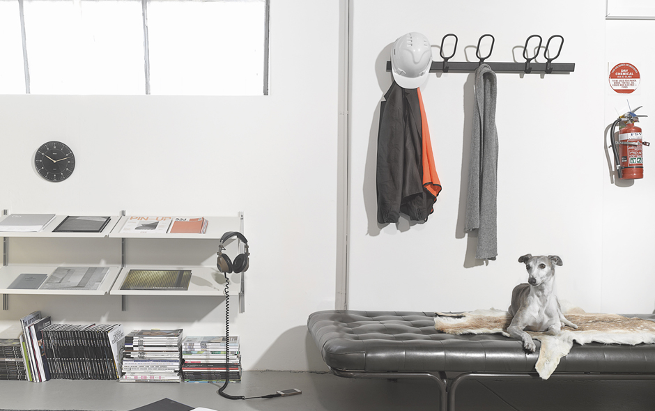 4/7 The DesignOffice studio in Collingwood, Melbourne, includes team member Saffy the resident whippet.