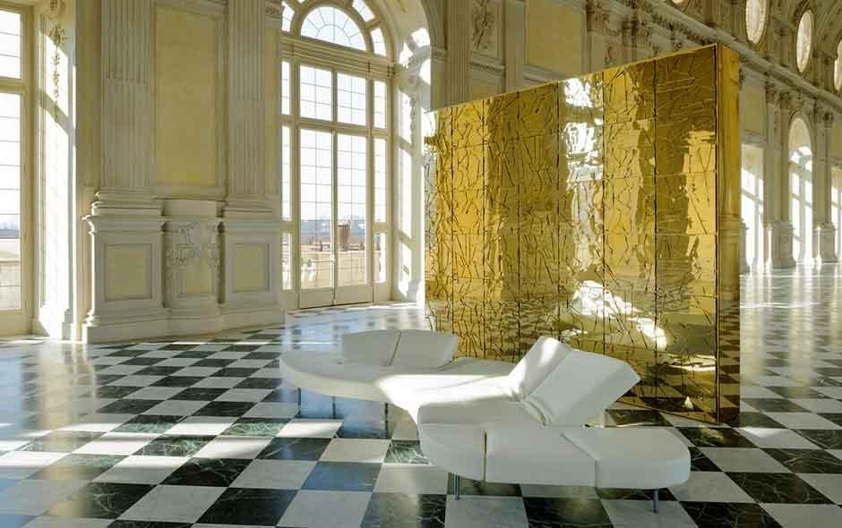 4/20 The Flap sofa by Francesco Binfaré.