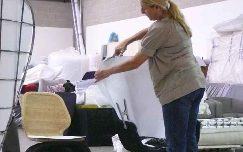 12/12 The Crinoline collection in development inside the B&B Italia R&D department.