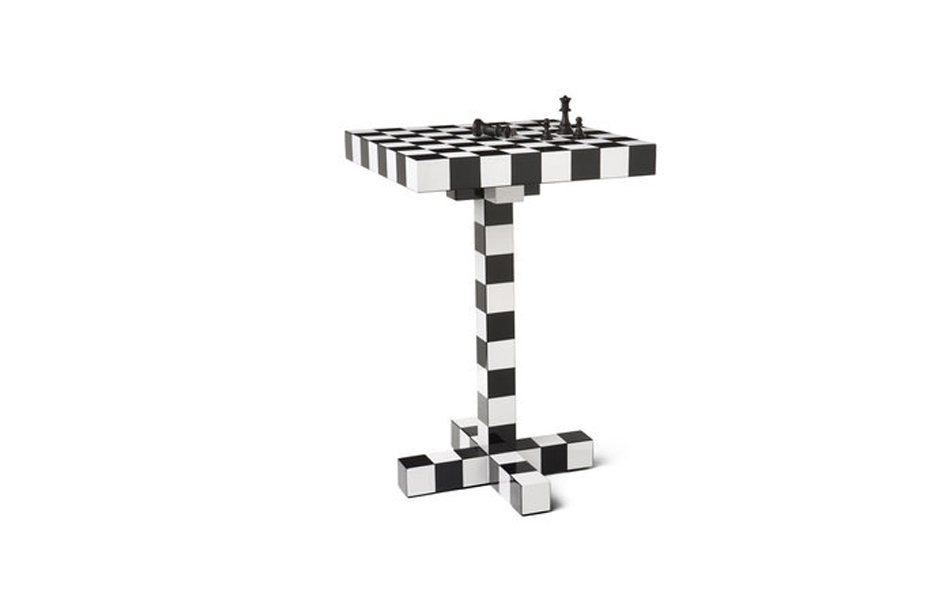 3/5 The Chess Table for Moooi – a table for 'pastime, rivalry and cleverness'.