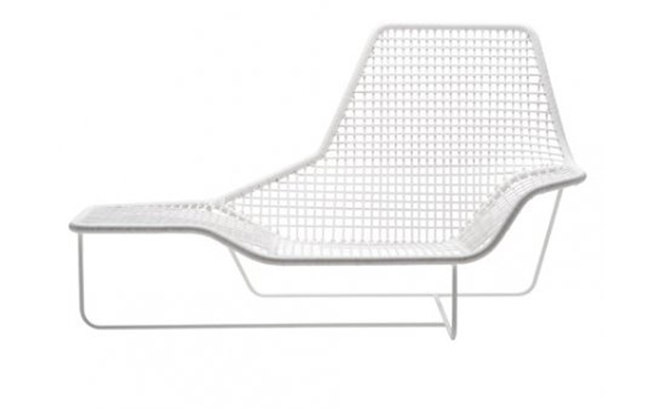 The Lama garden seat designed by Ludovica and Roberto Palomba and released by Zanotta in 2011.