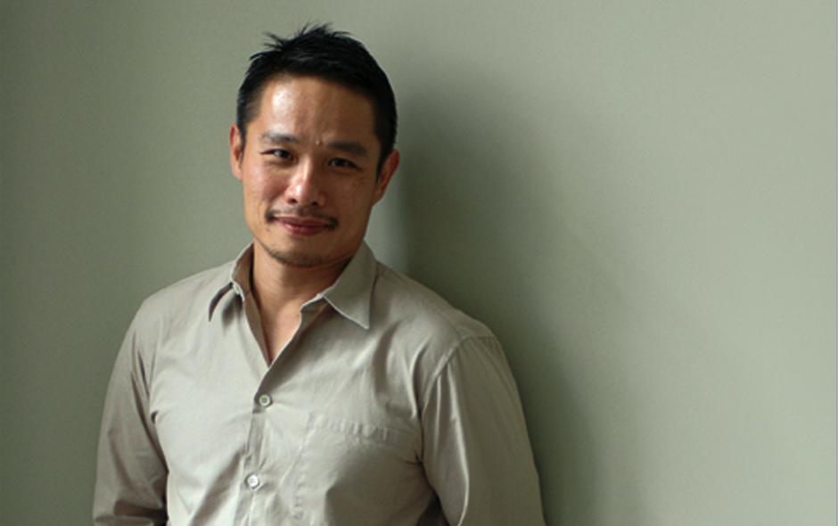 2/4 Portrait of Voon Wong. Photo Karl Jefferies.