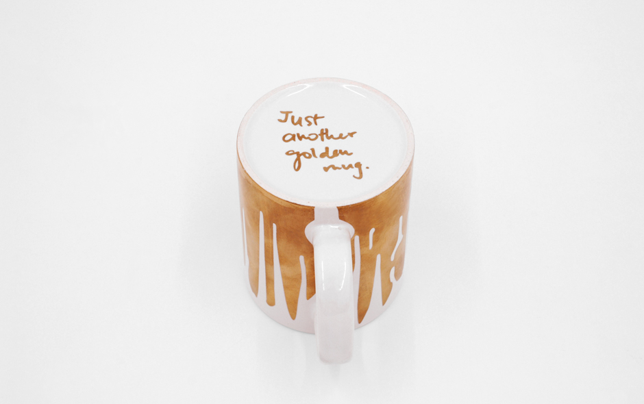 3/5 Just Another Golden Mug by Lanzavecchia + Wai.