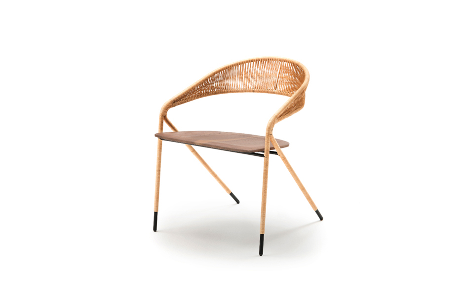 2/11 The woven George's chair by Spanish designer David Lopez Quincoces.