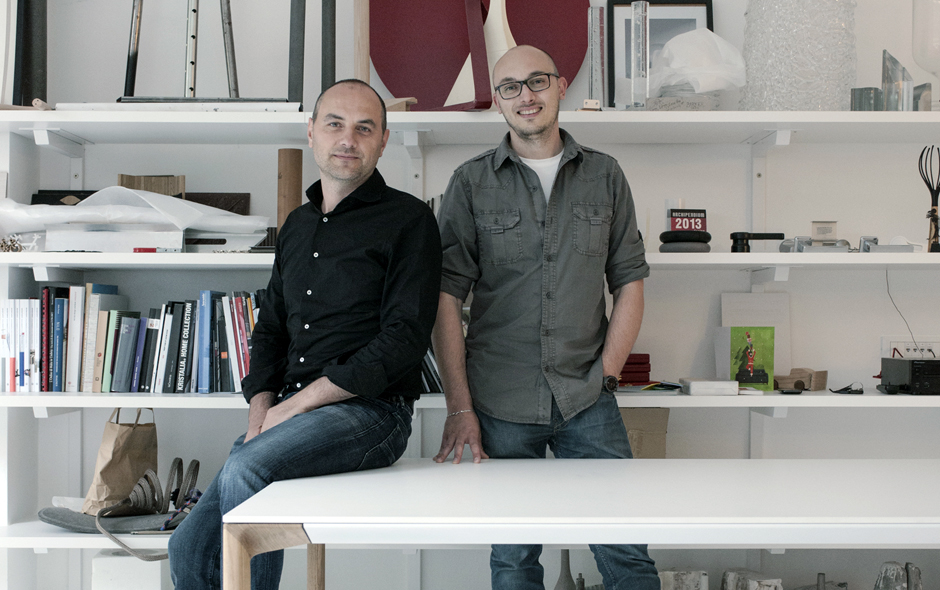 4/11 Designers Paolo Lucidi and Luca Pevere from Palmanova, Italy.