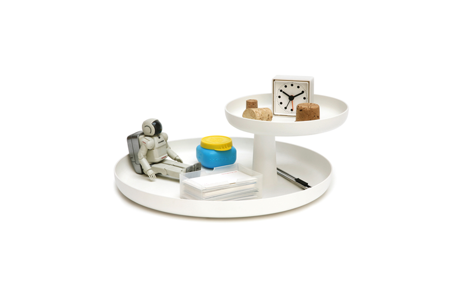 6/8 Rotary Tray designed by Jasper Morrison for the Vitra Home Complements Collection.