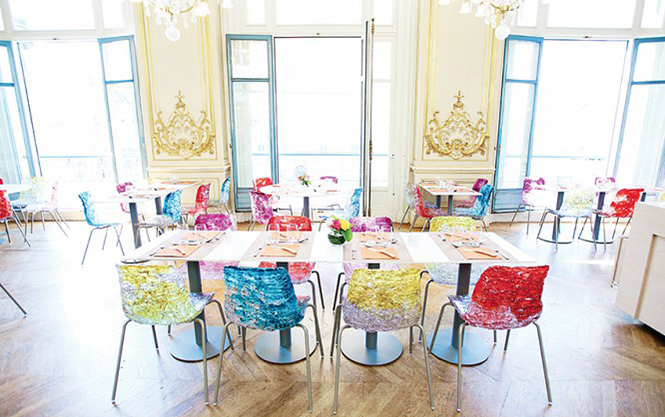 1/2 Nel Blu Dipinta di Blu at the historic musée D'orsay in Paris.