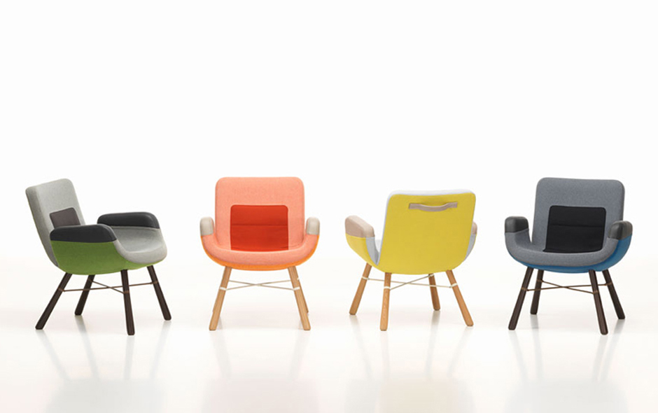 2/2 The East River Chair designed by Hella Jongerius and her team for Vitra.