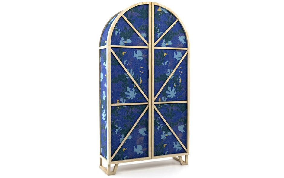 3/6 Beautifully detailed Tudor-inspired cabinet by Kiki van Eijk and Joost van Bleiswijk for Moooi.