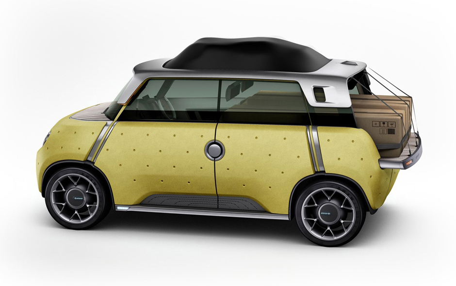 2/3 Transport nominee, ME.WE: Forward-thinking Car designed by Massaud and Toyota. Image copyright Toyota.