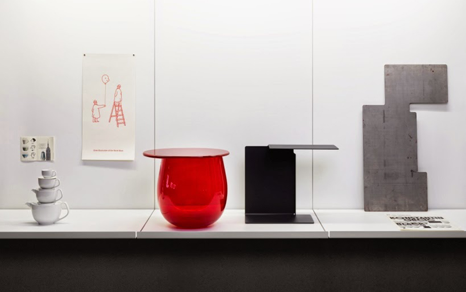 2/6 Room 4, The Archive of Things features sketches, prototypes and works by artists and designers including Marcel Duchamp and Gerrit Rietveld.