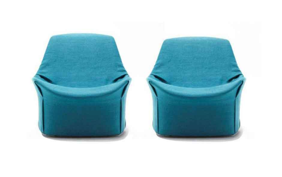 2/3 Giopato & Coombes has created a chair that is soft in form with clever details and invisible stitching.