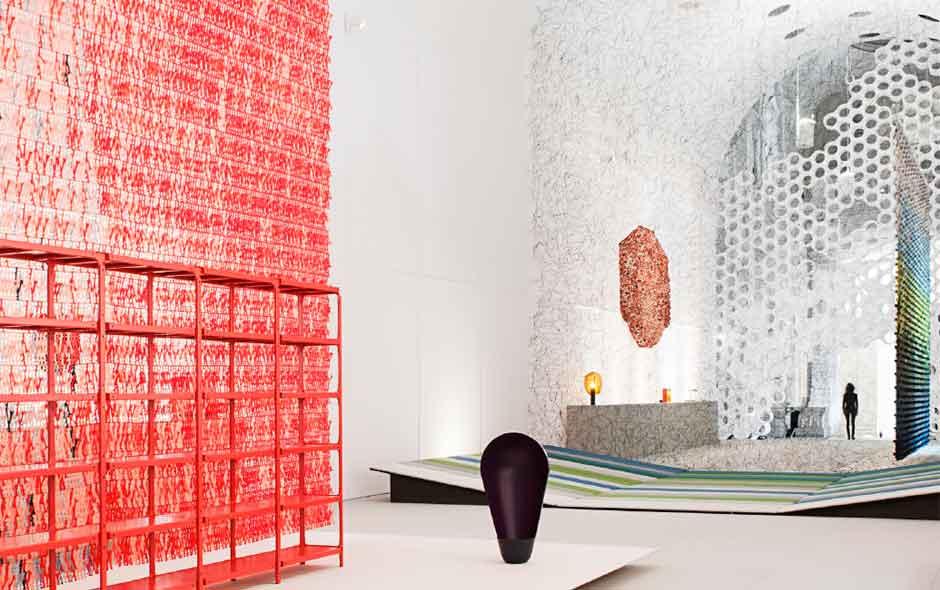 4/6 The expansive Les Arts Décoratifs de Paris brimming with ideas and projects by the Bouroullecs.