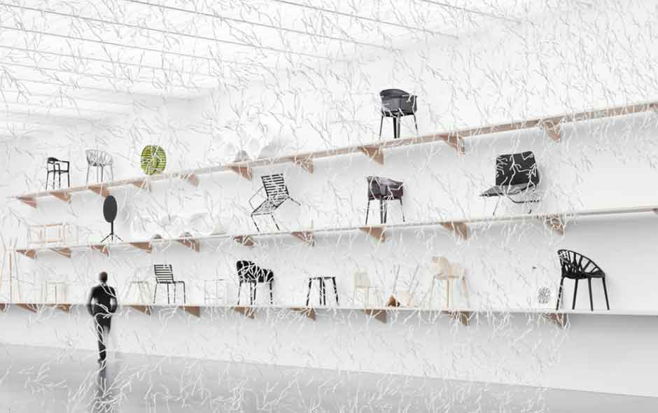 3/4 Ronan and Erwan Bouroullec: Bivouac opens next at the Museum of Contemporary Art in Chicago on October 18, 2012.