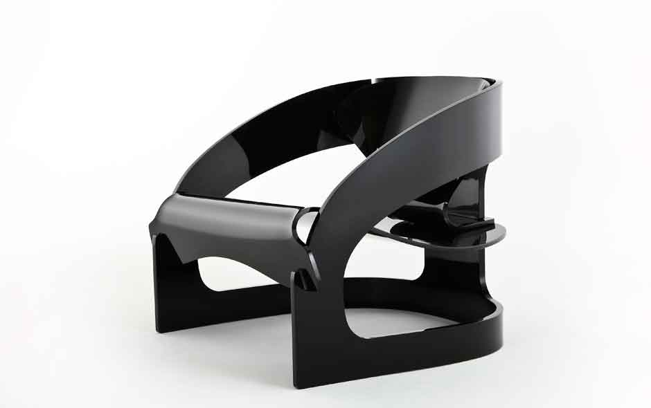 2/19 The '4801' classic by Joe Colombo re-released by Kartell.