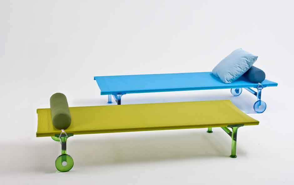 5/19 O/K outdoor daybeds by Rodolfo Dordoni for Kartell.