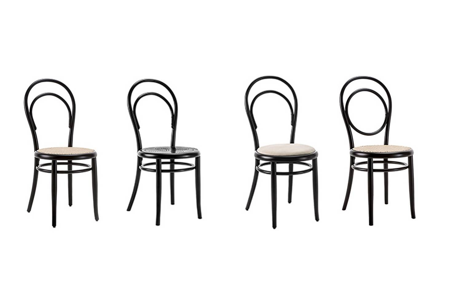 Chair No. 14 is probably the most well-known piece made by Gebrüder Thonet Vienna.