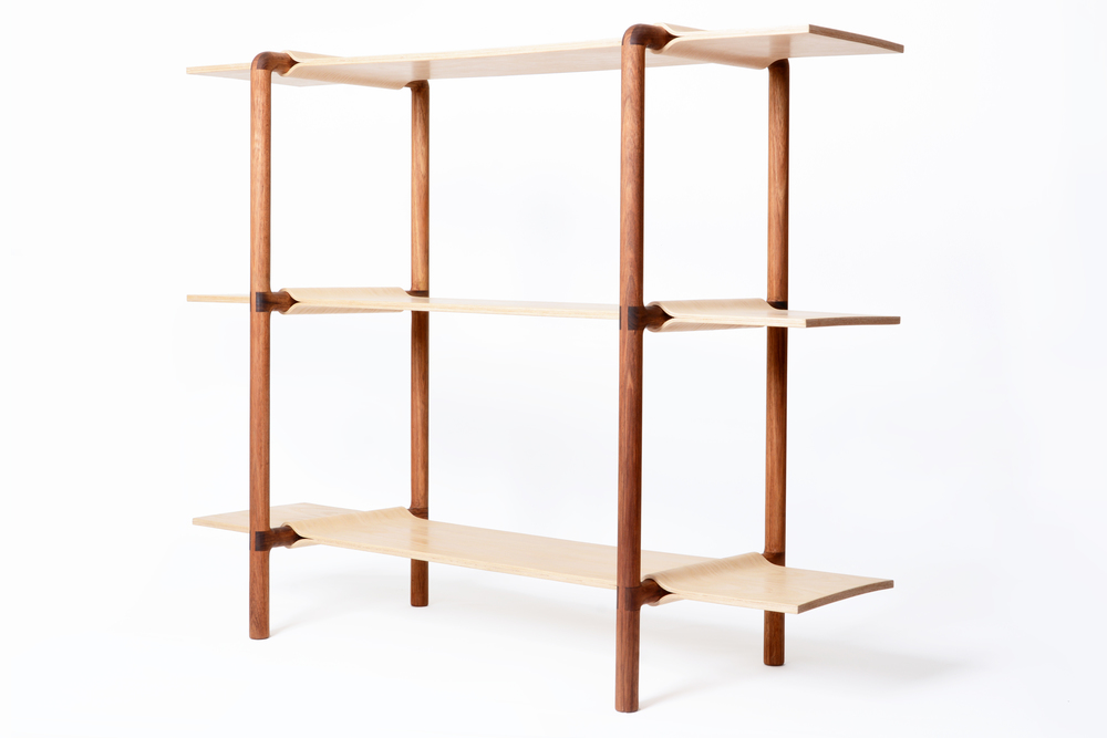 The Ondalé shelf by Alexsandra Pontonio will be shown as part of  Melbourne Movement's  exhibit at SaloneSatellite.