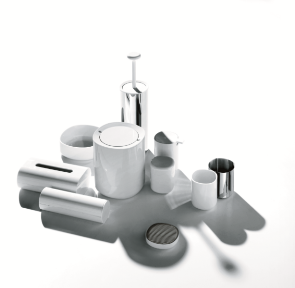 Brillo collection by Piero Lissoni for Alessi.