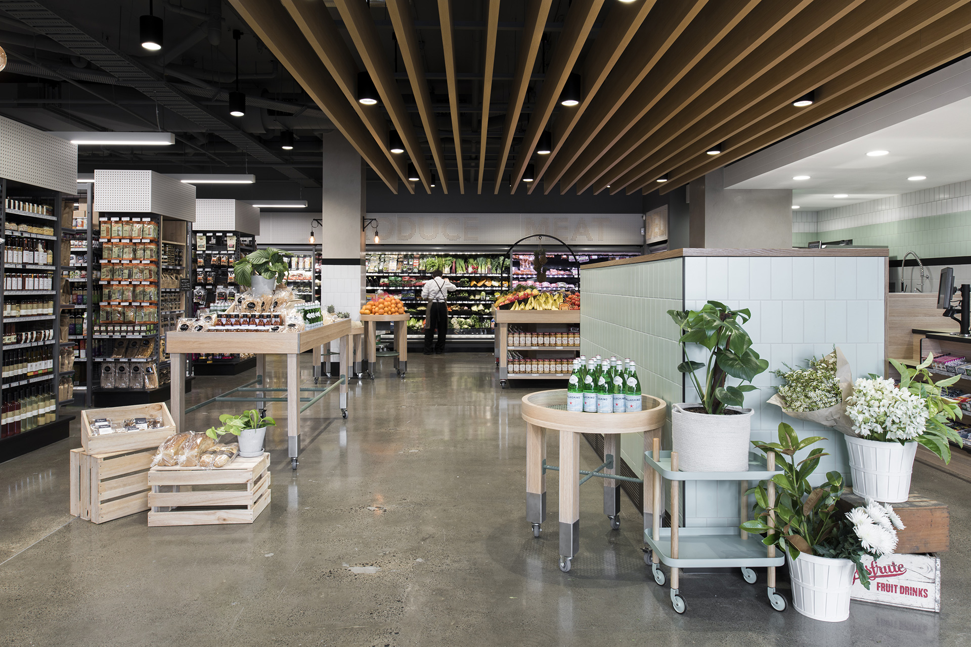 We Are Huntly's first project -the Prahran Grocer in Melbourne.