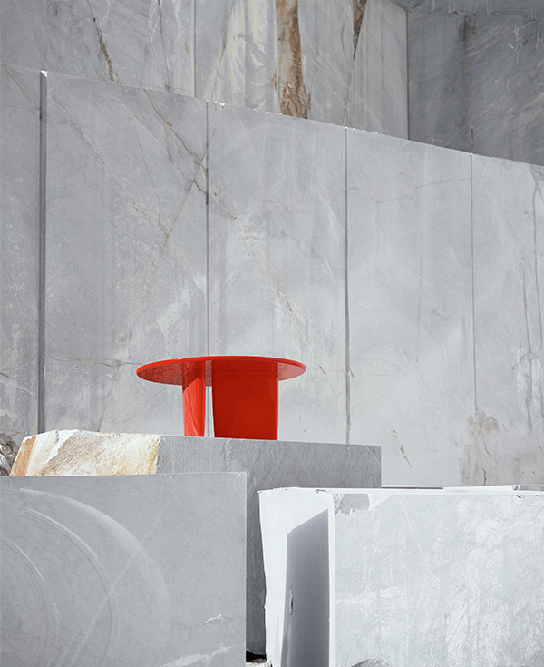 Tobi-ish by Barber Osgerby is one of a series of B&B Italia's most celebrated designs to feature in the photographic series 'Abstract Landscapes'. The photographs are part of their 50th anniversary book.