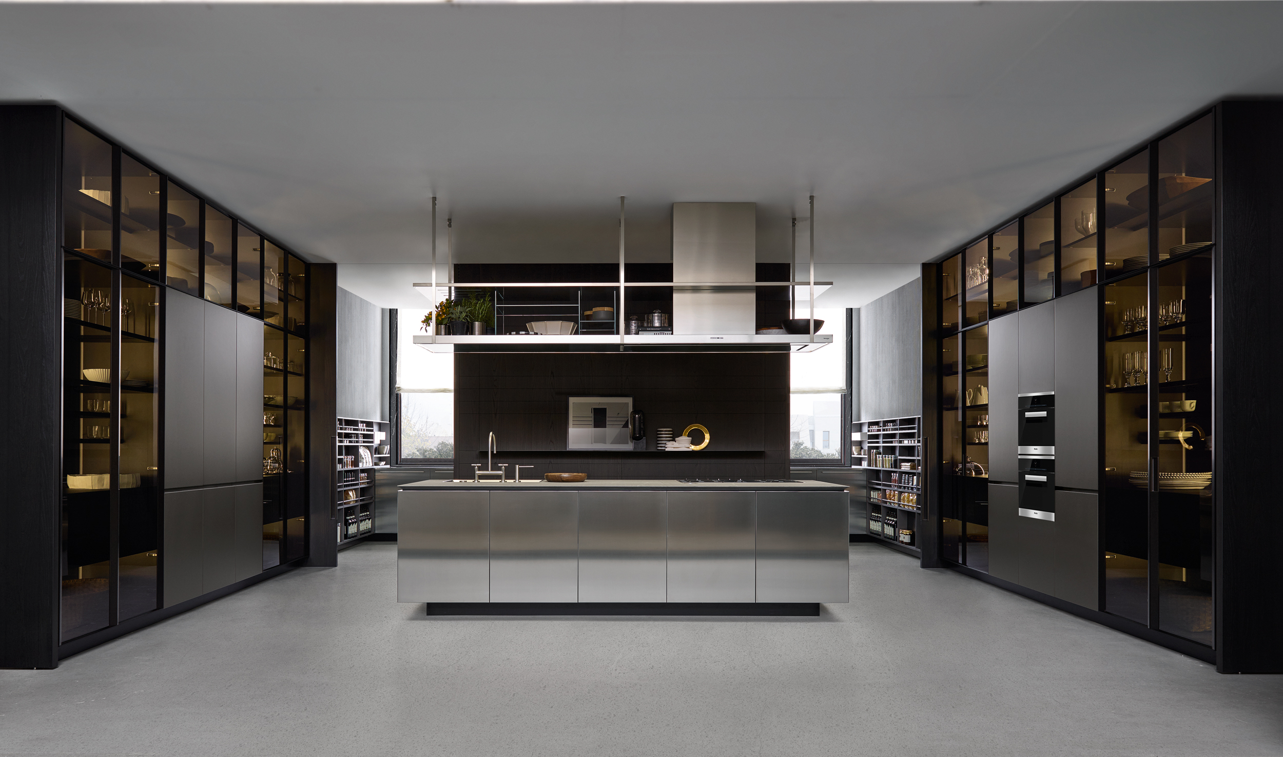 The Varenna Artex kitchen.