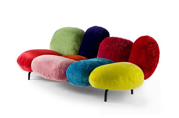 Eda Cipria sofa by the Campanas
