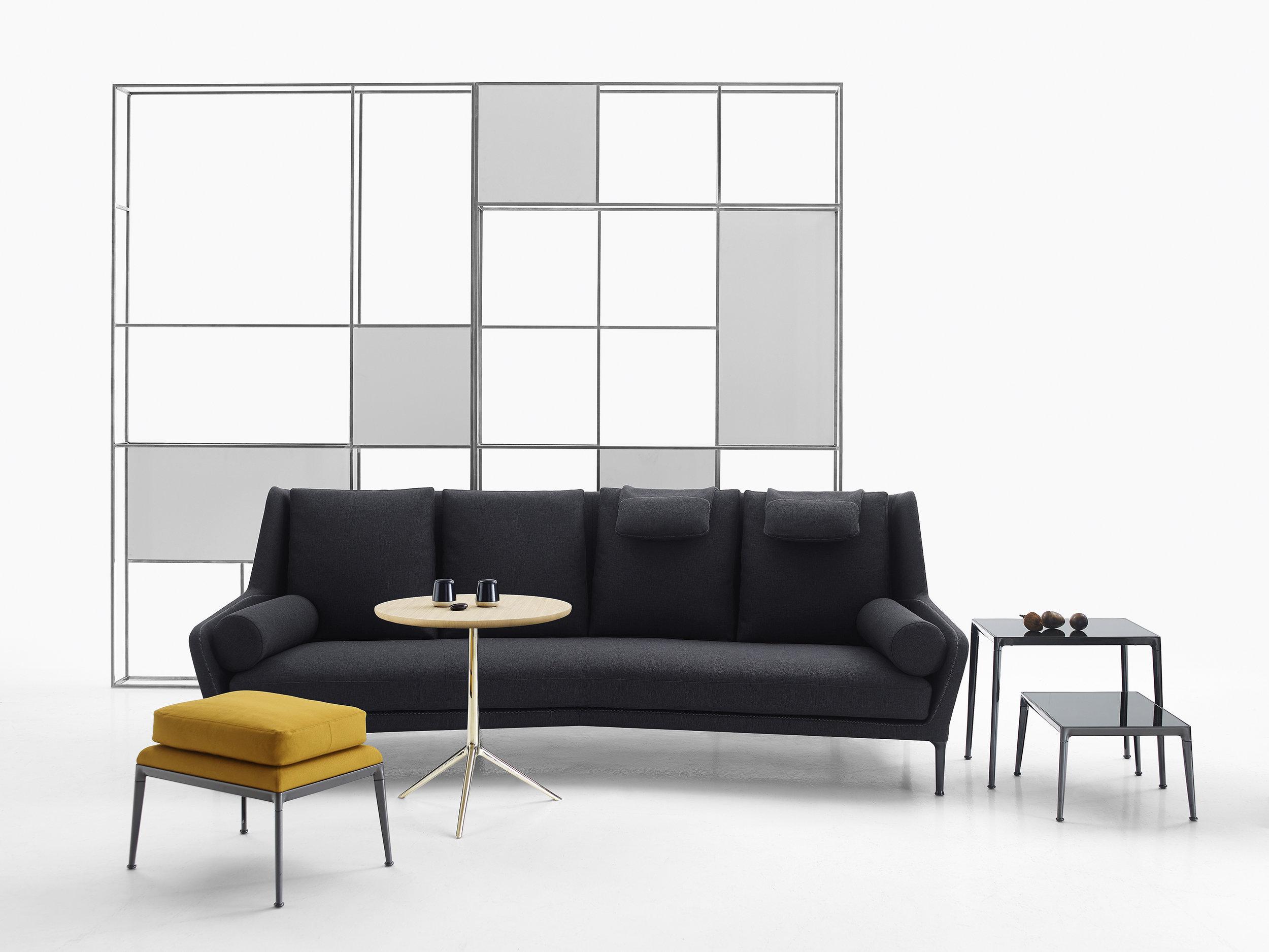 Antonio Citterio's most recent sofa design for B&B Italia - the  Édouard sofa .