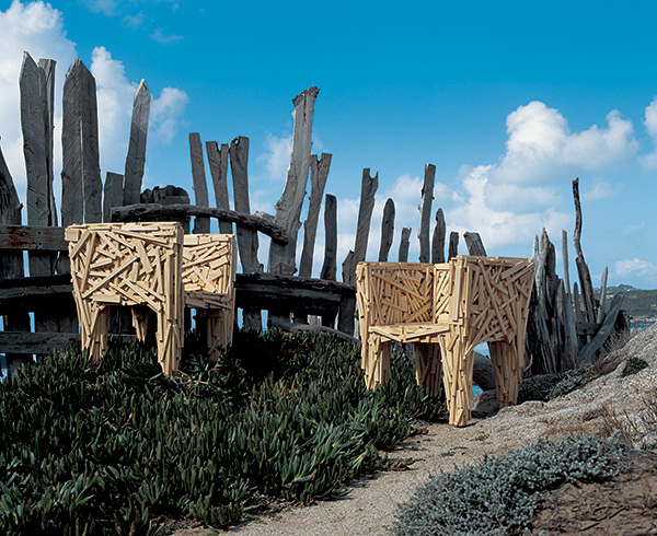 Edra Favela chairs by the Campana Brothers