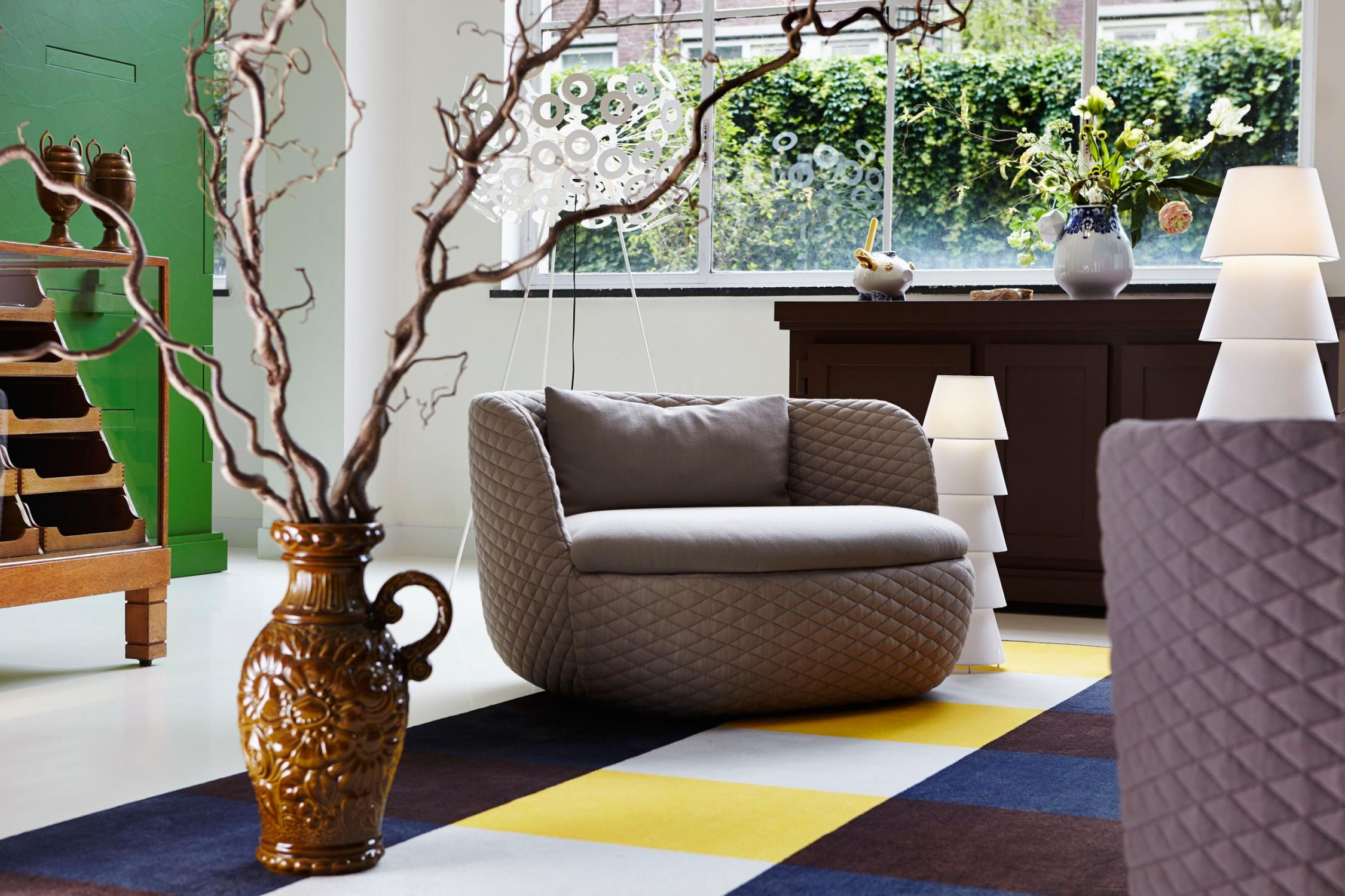 Moooi's Bart Sofa & Armchair by Moooi Works and Bart Schilder