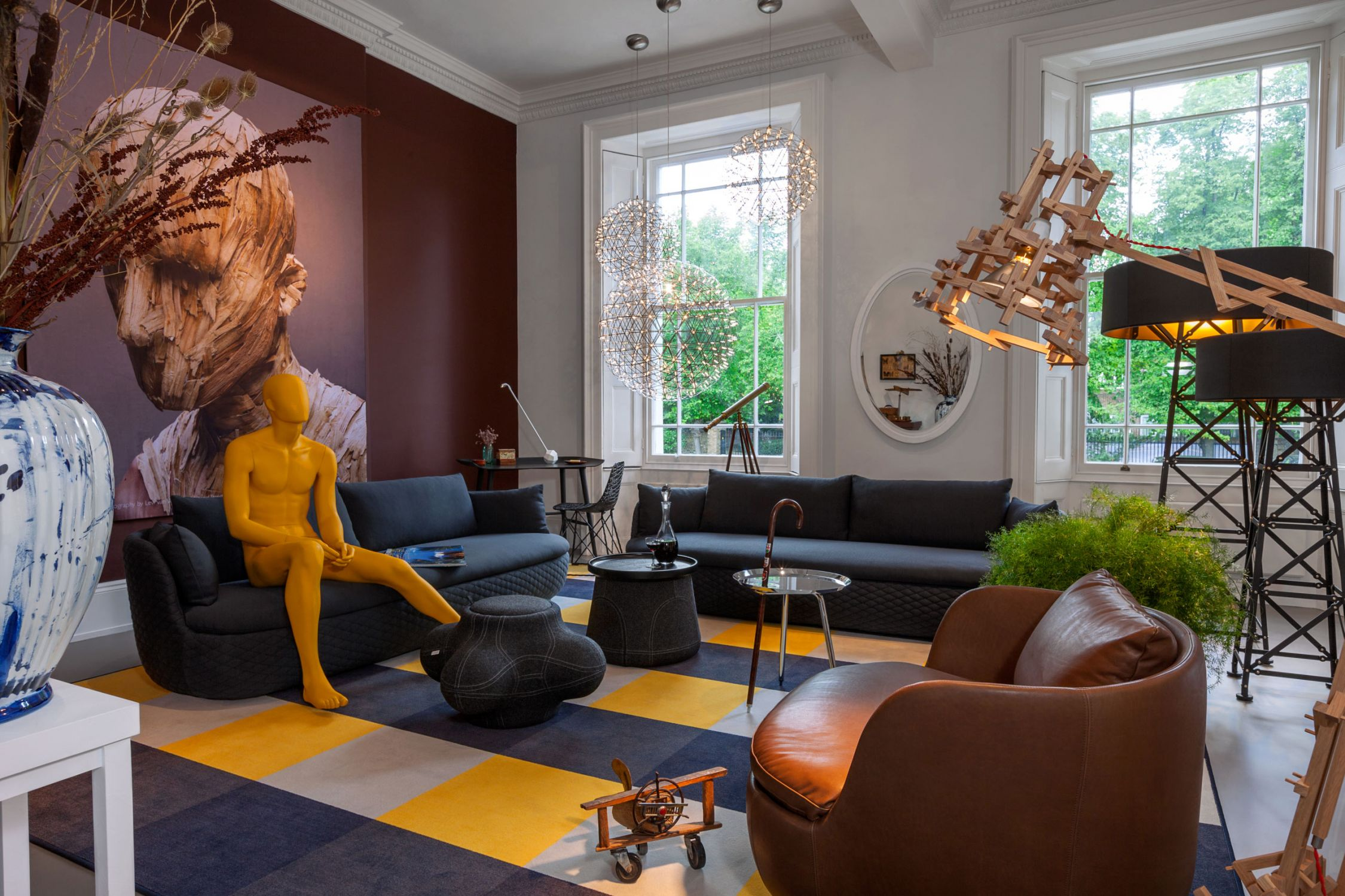 Moooi Works and Bart Schilder have added a softness to the classic silhouette by using modern day skills and a timeless eye for detail.