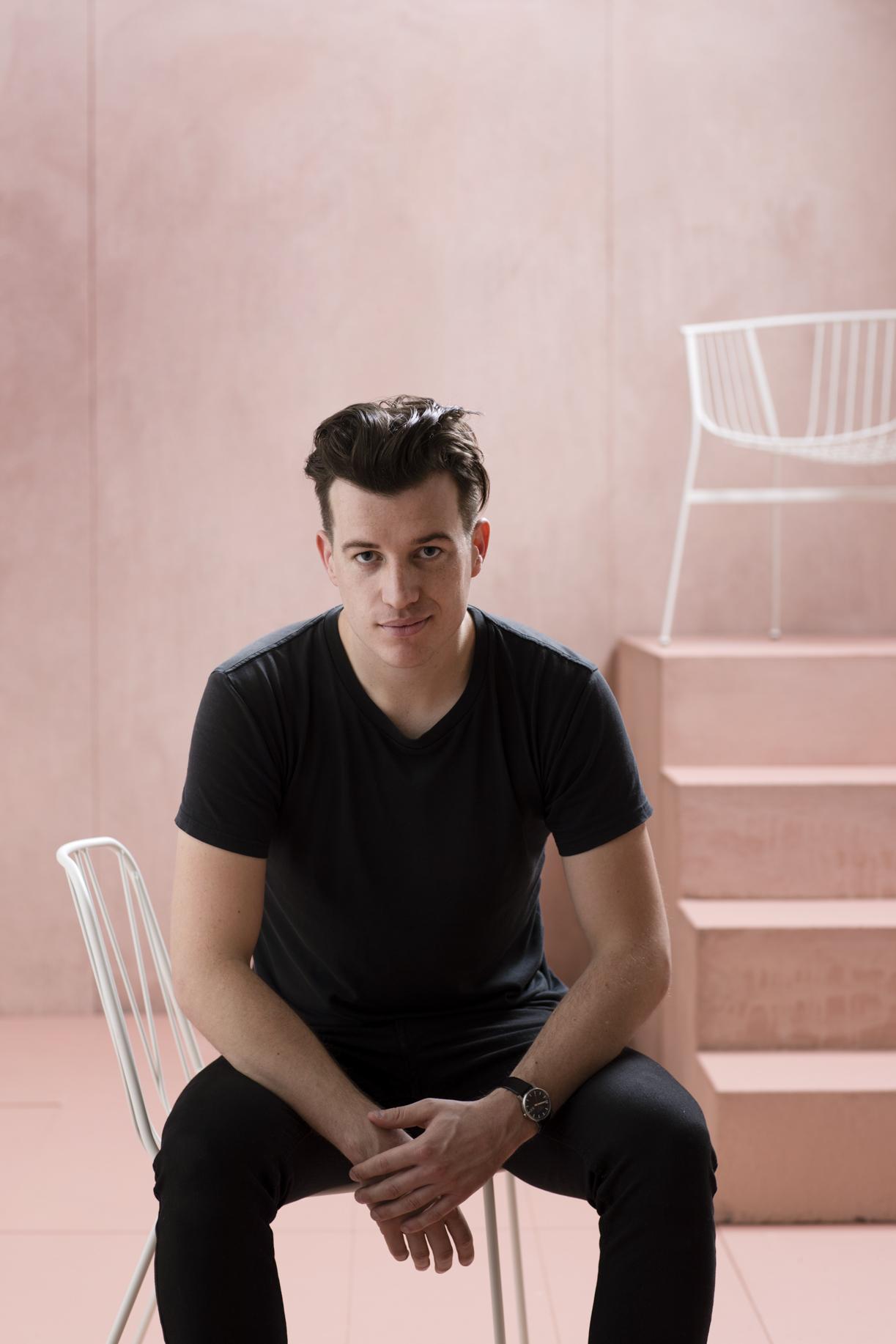 Australian designer Tom Fereday