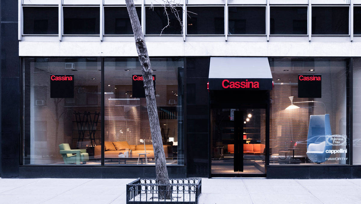 Cassina's New York Showroom in Midtown