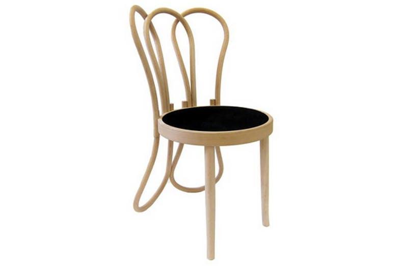 Post Mundus chair by Martino Gamper for Gebrüder Thonet Vienna (GTV).