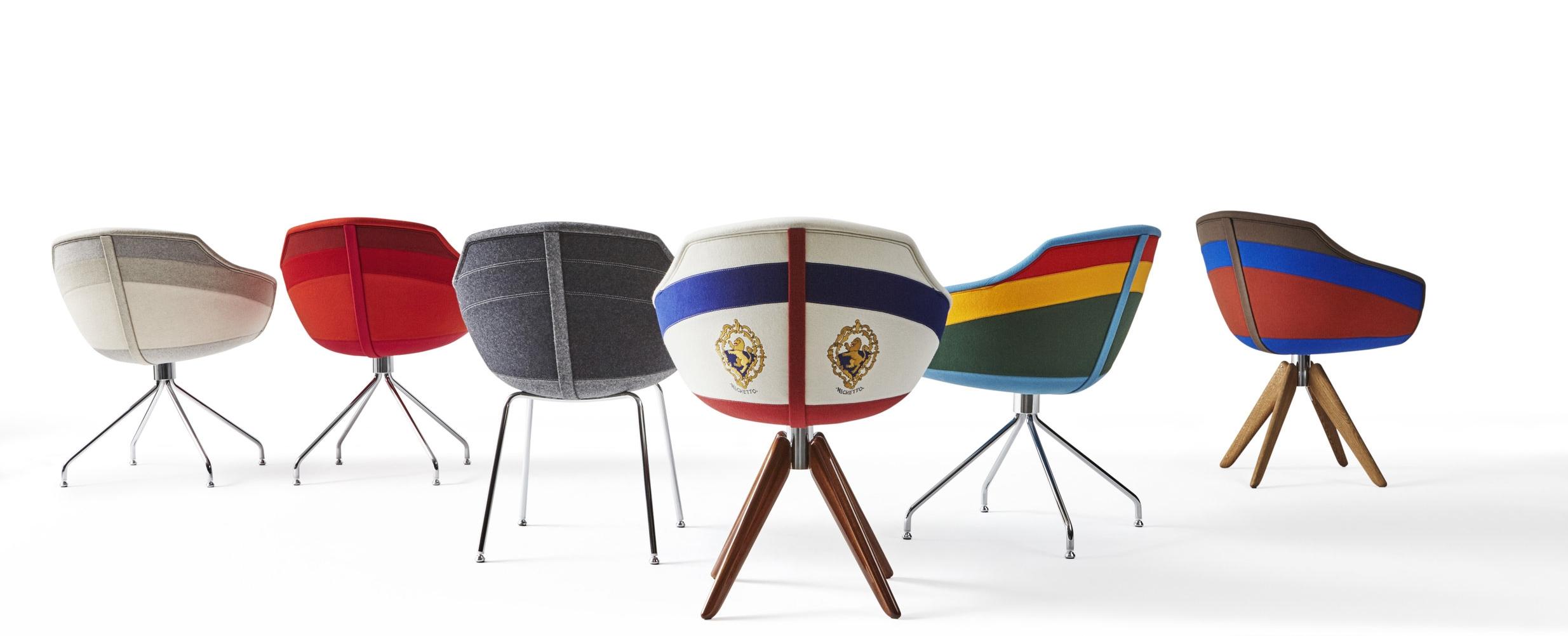 Canal chair by Luca Nuchetta for Moooi.