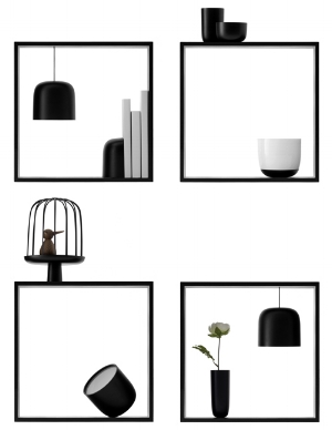 Nendo's Gaku collection for Flos.