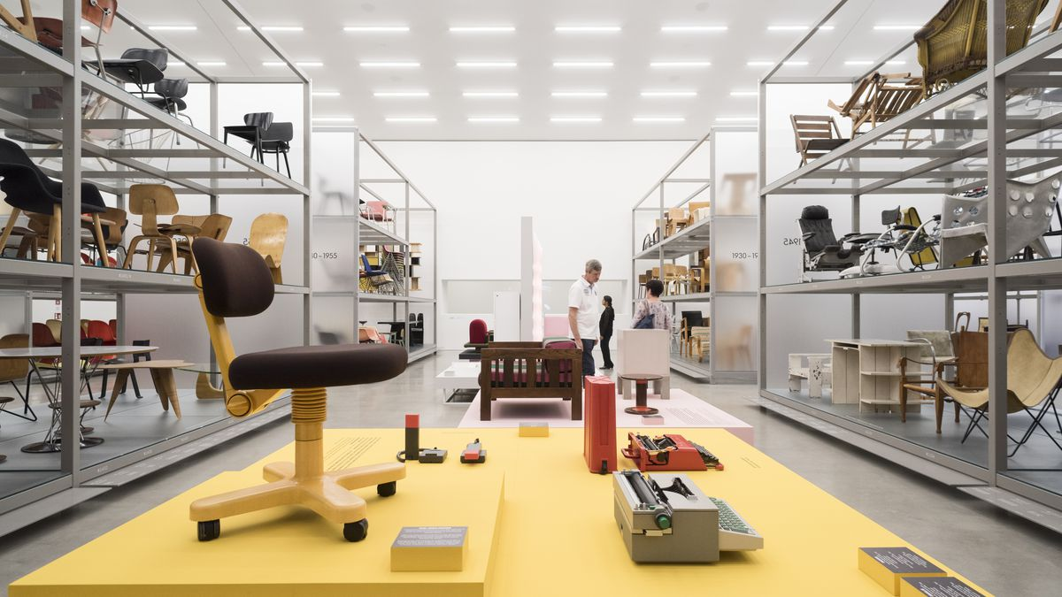 """""""Poet and Rebel: Ettore Sottsass and the Memphis Legacy"""" at the Vitra Design Museum until 24 September, 2017. Photo courtesy Vitra Design Museum."""