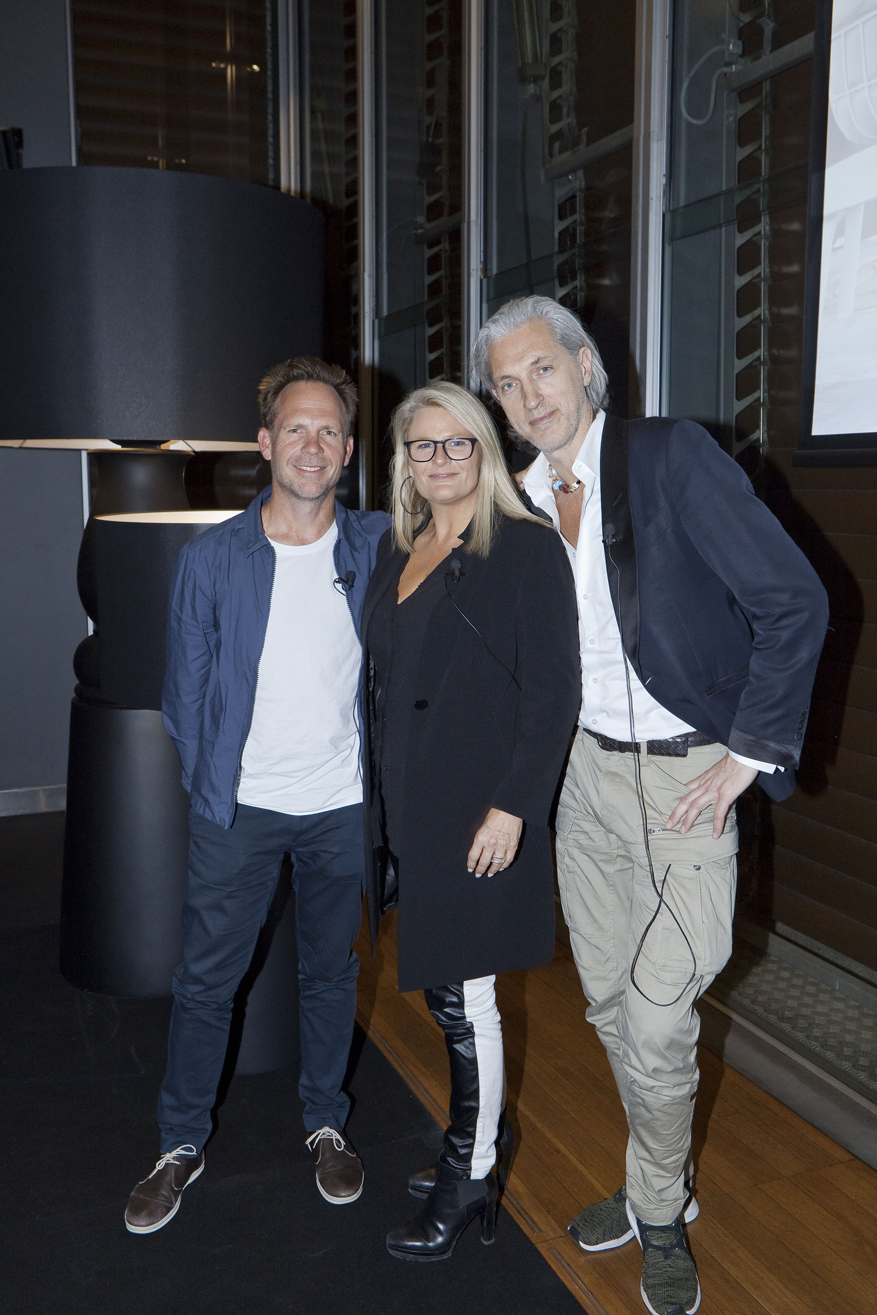 Jonathan Richards, Tracey Wiles and Marcel Wanders discussed the Future of Hotels with architects and designers at the Mint in Sydney.