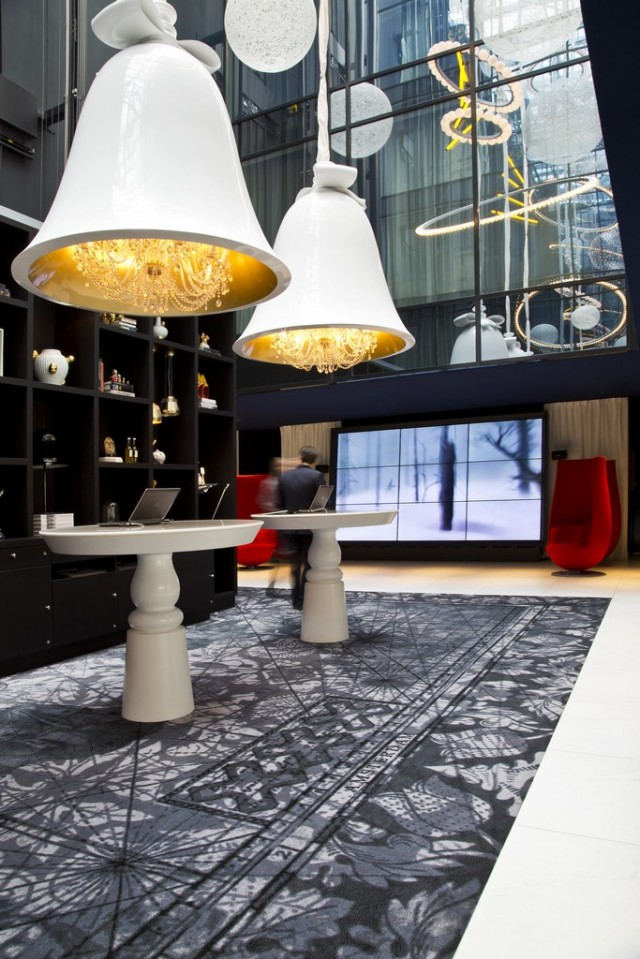 The Andaz Hotel in Amsterdam, Marcel Wanders' first hotel that he designed and owned with a friend.