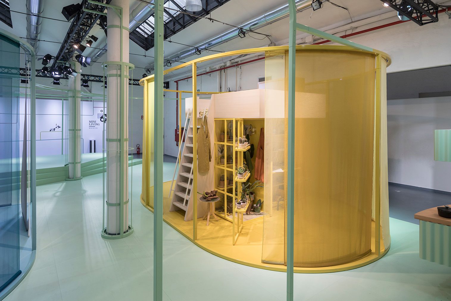 """London architects Studiomama presented 'MINI Living – Built By All', a """"micro-city"""",demonstrating the power of small."""