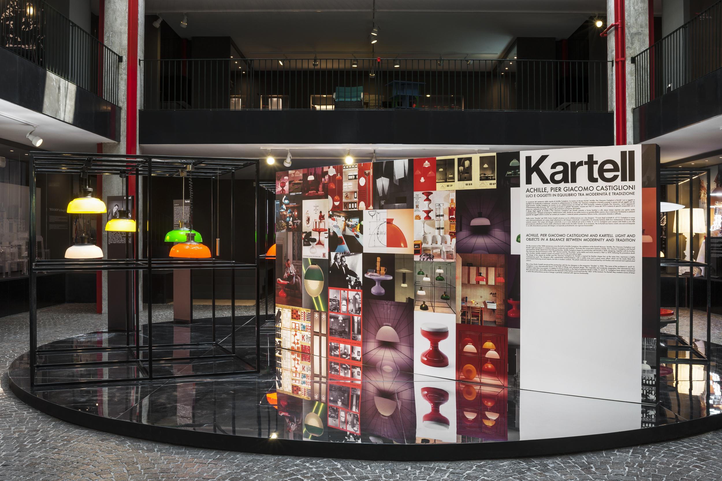 The Kartell Museum's tribute to designer Achille Castiglioni and his brother Per Giacomo.